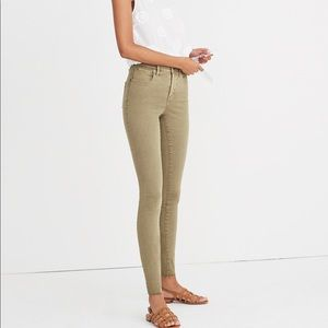 "Madewell 9"" High-Rise Skinny Jeans"